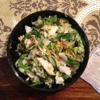 Lunch Review: Subway Turkey Breast Salad