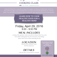 Cooking Class to Benefit Andy Welch Racing and the CKG Foundation!